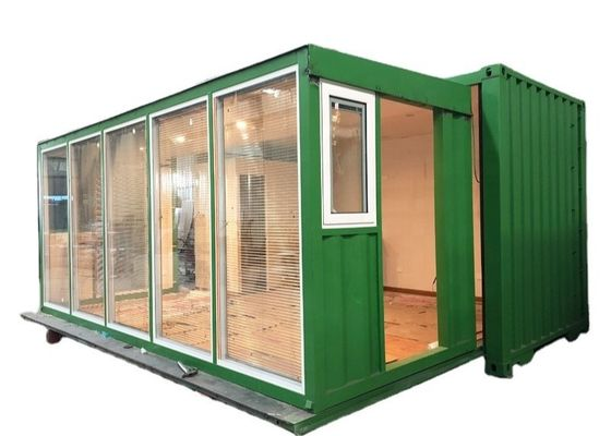 Single Double Room 20ft Prefab Expandable Modular House