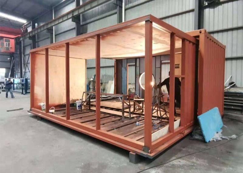 20 HC Prefabricated Luxury Expandable Shipping Container House